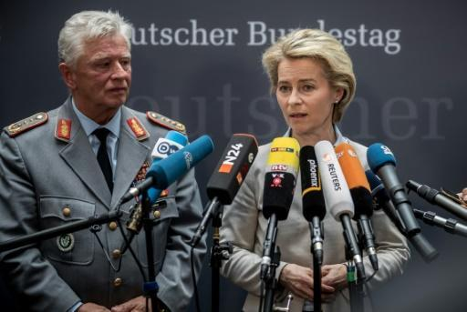 German defence minister vows clear army break with Nazi past