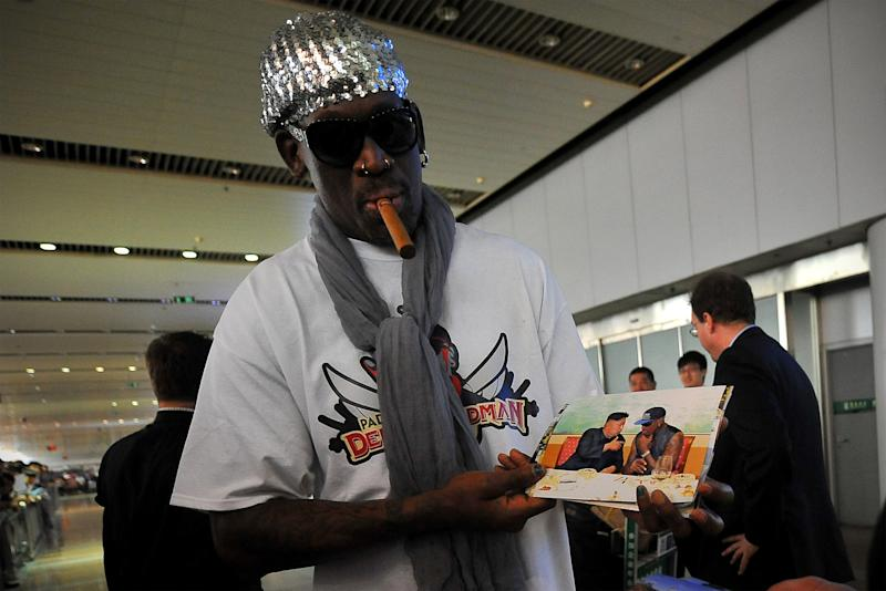 Dennis Rodman Says His Friend Kim Jong Un Is 'Probably' a Madman, 'But I Don't See It'
