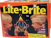 <p><span>Lite Brite With Pegs and Refill Sheets 1993</span> ($154)</p>