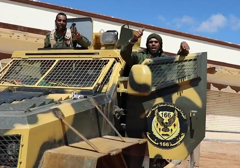 Haftar's self-proclaimed Libyan National Army launched an assault on Tripoli earlier this month (AFP Photo/-)