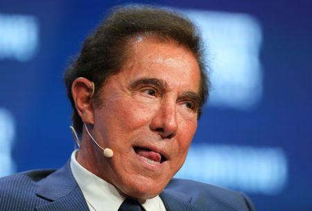 Steve Wynn, Chairman and CEO of Wynn Resorts, speaks during the Milken Institute Global Conference in Beverly Hills, California, U.S., May 3, 2017. REUTERS/Mike Blake