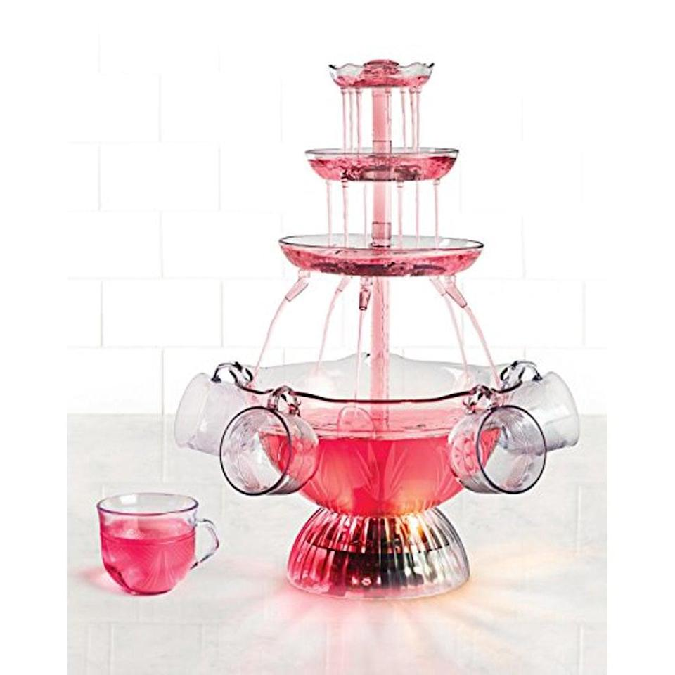 <p>Be the host with the most with this entertaining <span>Nostalgia Lighted Party Fountain</span> ($33).</p>