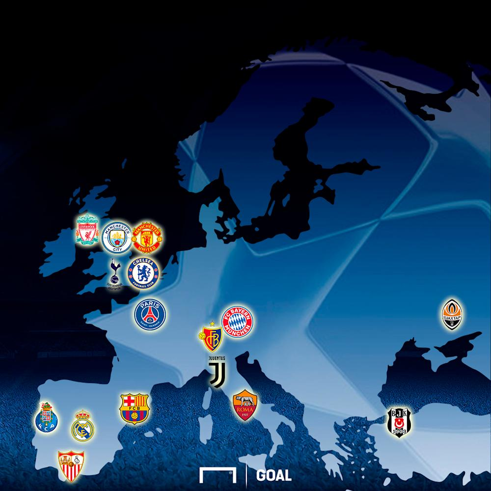 Champions League Last 16 PS