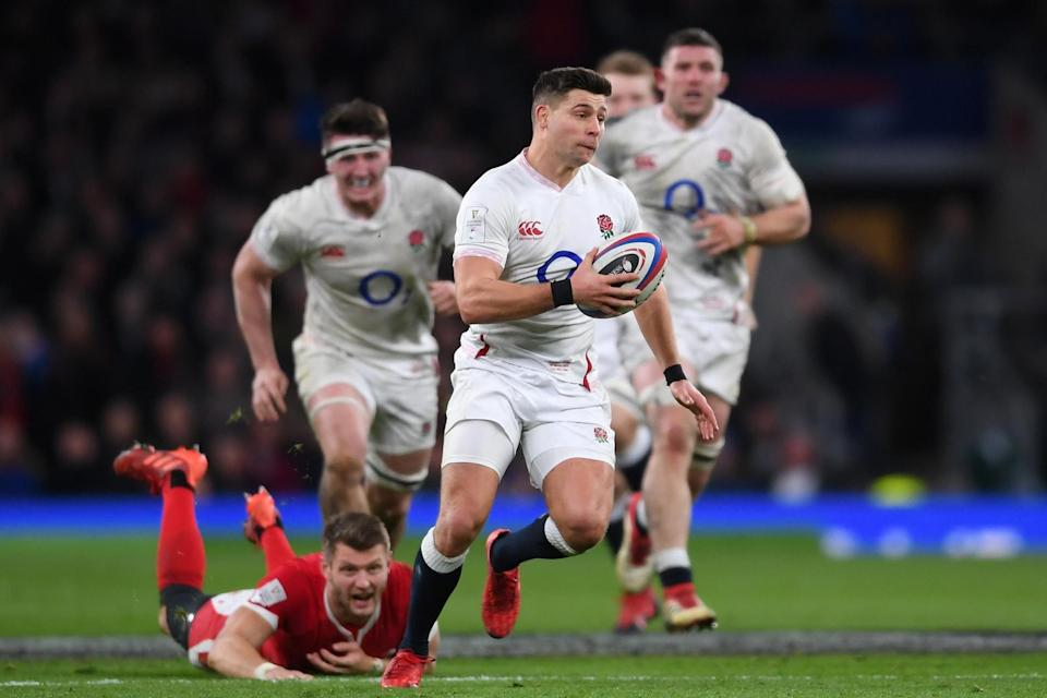 Centurion: Ben Youngs will equal Jason Leonard this weekend with his 100th international capGetty Images