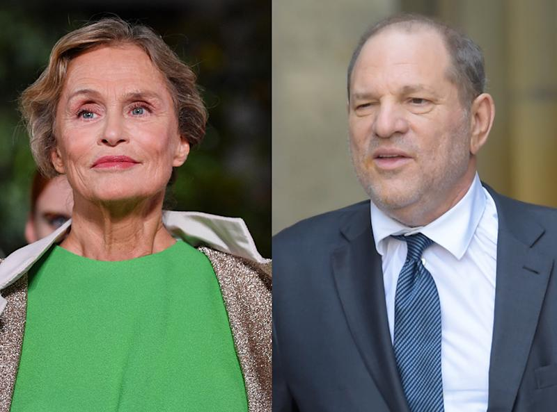 Lauren Hutton, Harvey Weinstein
