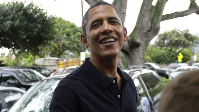 Obama's Dad-Daughter Day in Hawaii
