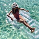 """<p><strong>Sunnylife</strong></p><p>sunnylife.com</p><p><strong>$75.00</strong></p><p><a href=""""https://www.sunnylife.com/products/inflatable-lilo-chair-glitter-ss20"""" rel=""""nofollow noopener"""" target=""""_blank"""" data-ylk=""""slk:BUY NOW"""" class=""""link rapid-noclick-resp"""">BUY NOW</a></p><p>Filled with shimmering glitter confetti, this float doubles as a chair and recliner. It's sure to be a hit at any pool party.</p>"""