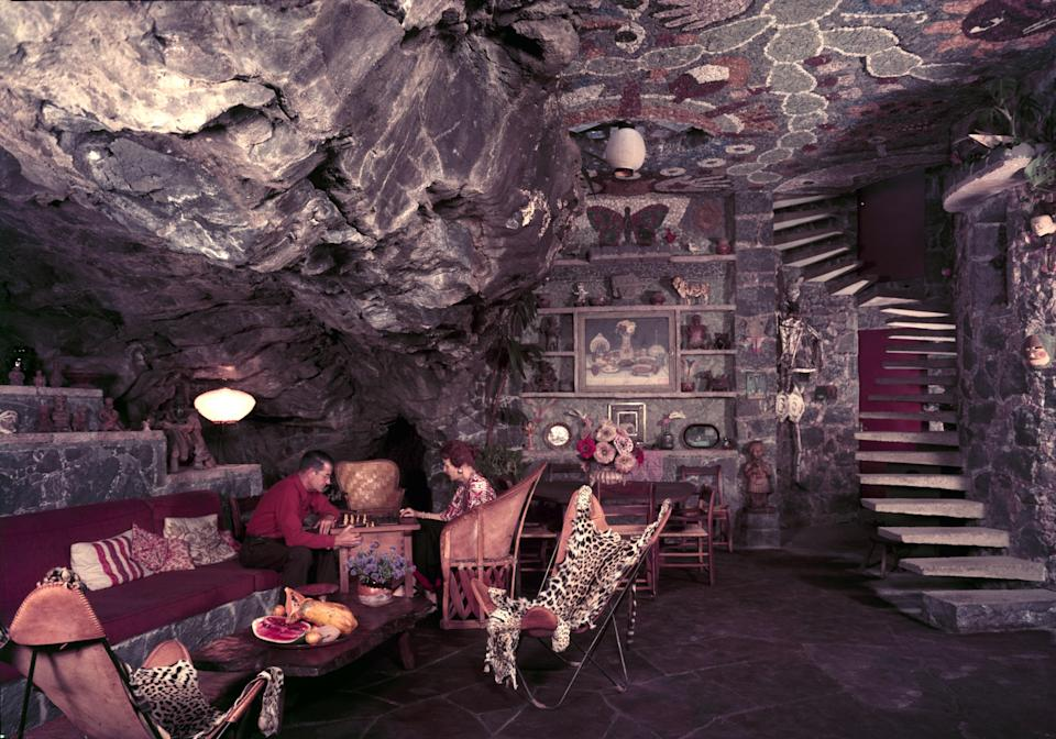 When your living room could double as a Bond villain's lair? That's cocaine chic.