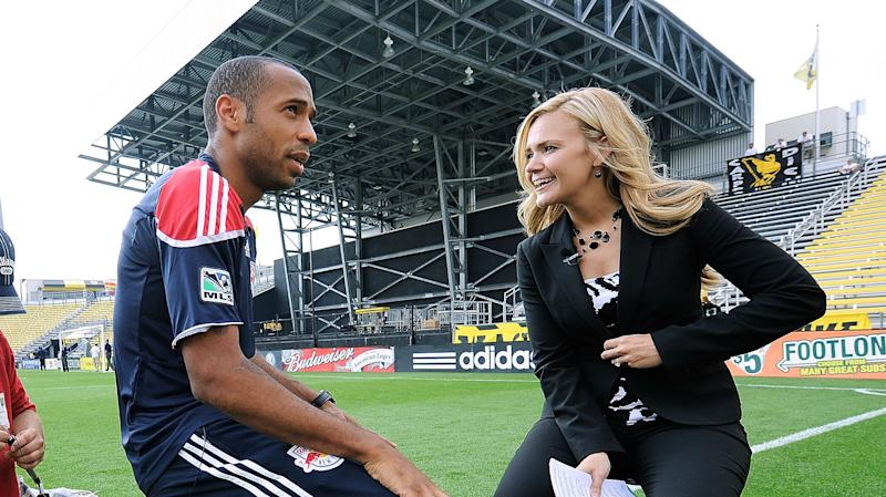 Katie Witham Thierry Henry MLS 2010