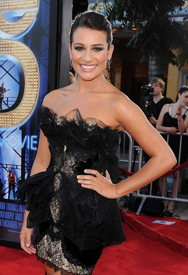 "Lea Michele (""Glee"") turns 25. Kevin Winter/<a href=""http://www.gettyimages.com/"" target=""new"">GettyImages.com</a> - August 6, 2011"