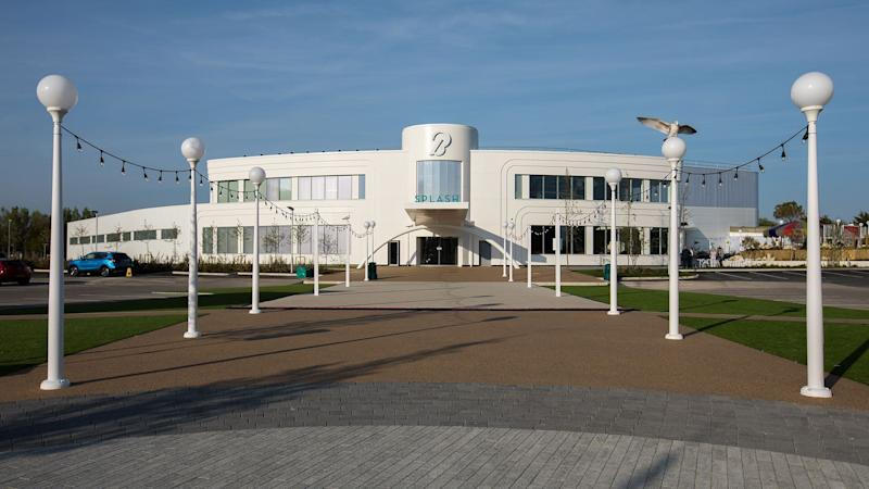 The pool looks just as stunning from the outside, as it does inside. (Butlin's)