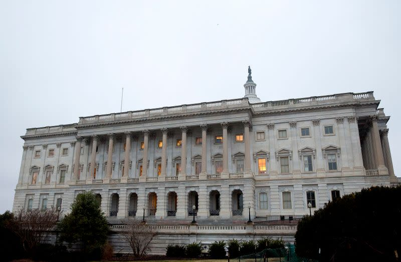 Chamber of the House of Representatives stands at the U.S. Capitol Building in Washington