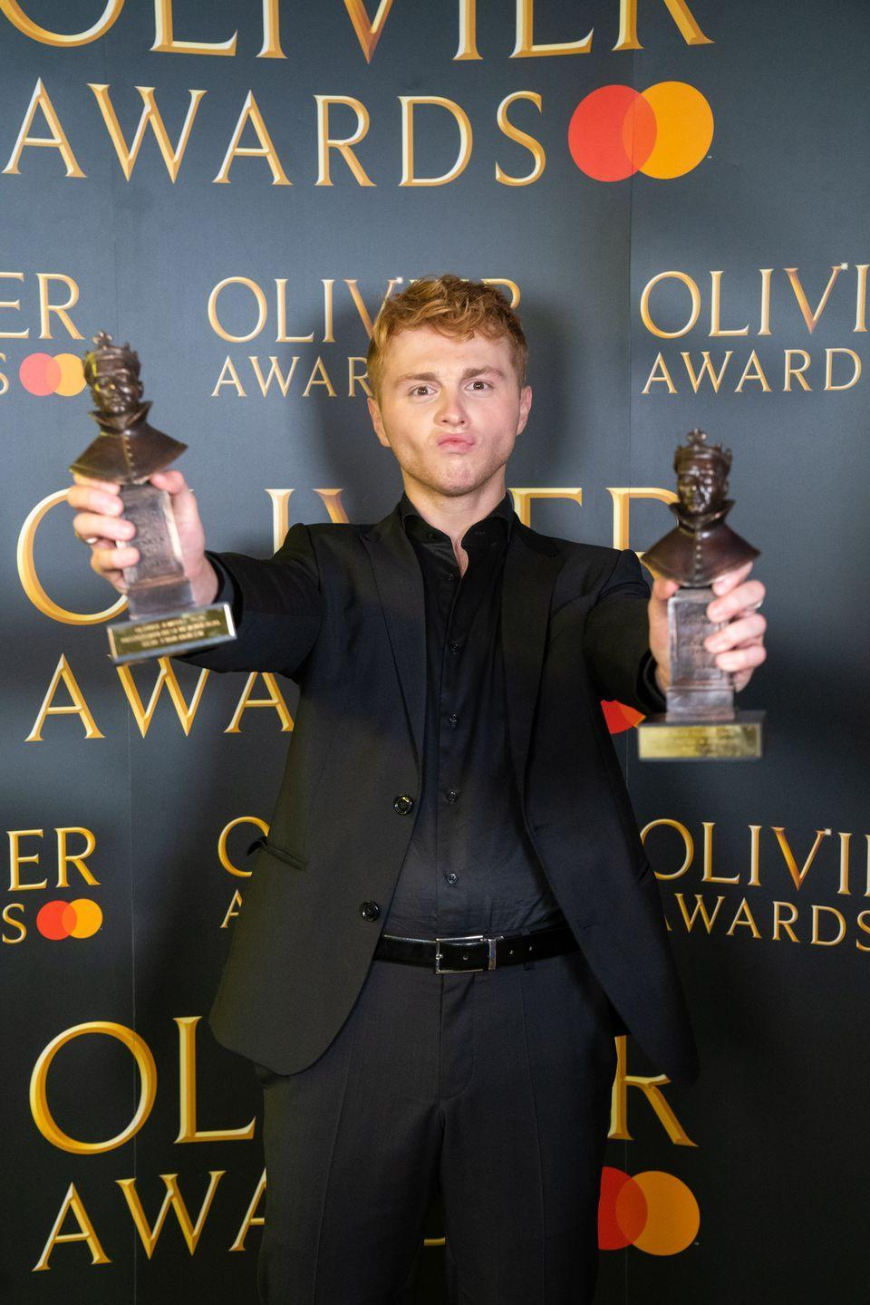 Photo credit: Society of London Theatre - Getty Images