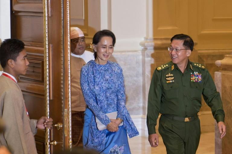Suu Kyi's administration has been beset with trouble and marked by an uneasy relationship with the military