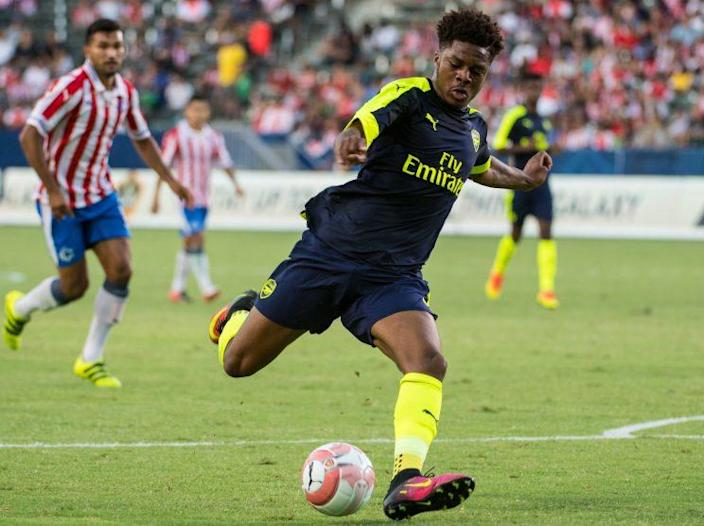 Chuba Akpom of Arsenal