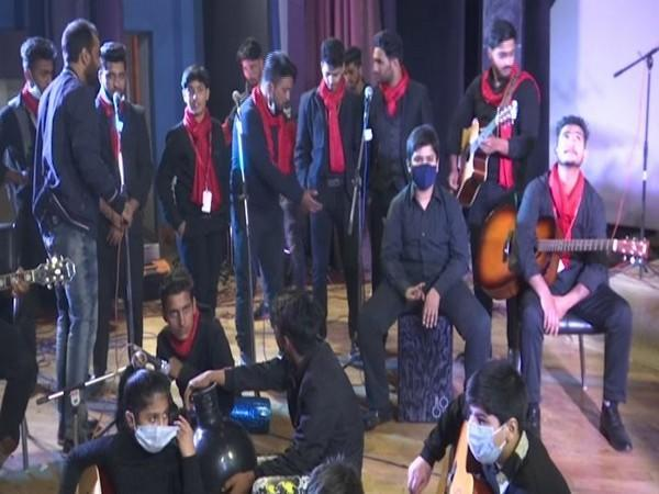 The musical concert was organised at Tagore Hall in Srinagar. (Photo/ANI)