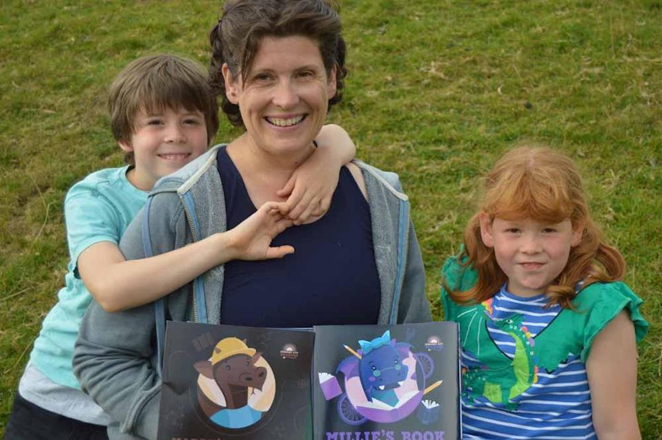 Jane felt inspired by her children's stories to write books that will bring joy to other families (Collect/PA Real Life).