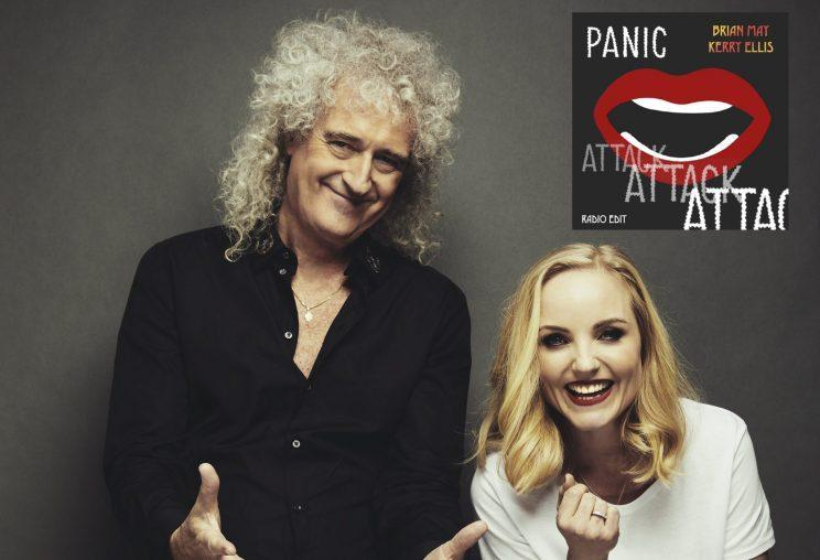 Brian May and Kerry Ellis release 'Panick Attack' and Brian says Theresa May should be in a panic (EXCLUSIVE)