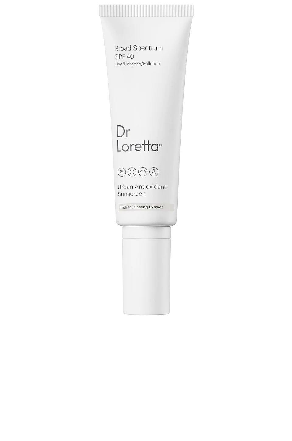 <p>This <span>Dr. Loretta Urban Antioxidant Sunscreen SPF 40</span> ($50) is another editor favorite. It sits under makeup so well and doesn't pill with other skin-care products.</p>