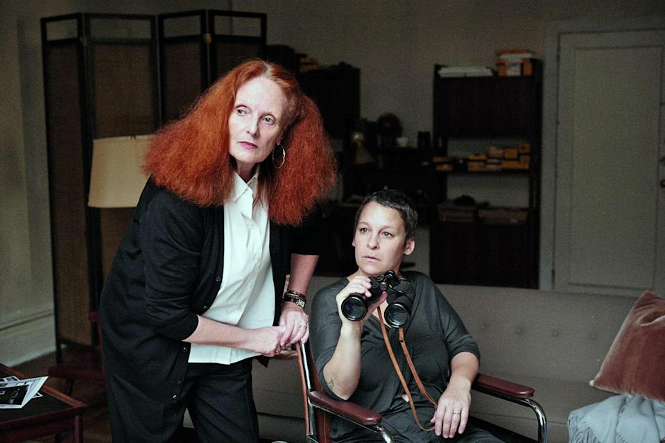 Karen Elson and several cats to commemorate Grace Coddington's 80th birthday.
