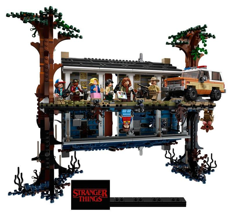 LEGO Stranger Things The Upside Down (Credit: LEGO)