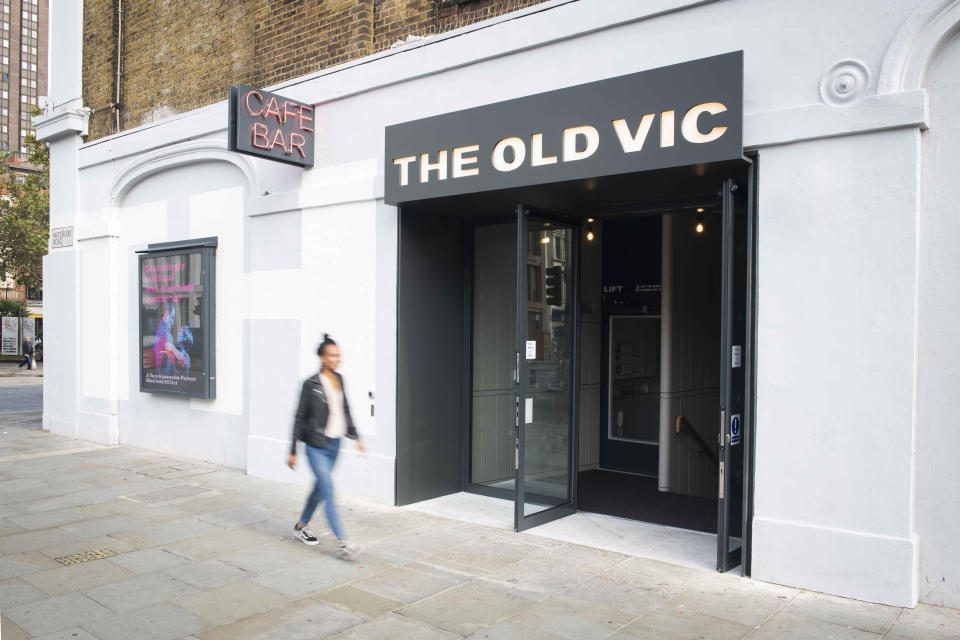 Handout photo dated 30/09/19 of The Old Vic in London, which has been recently renovated, as the artistic director has said that the London theatre is a ???radically different??? place since the departure of Kevin Spacey ??? and that the public now recognises the venue is more than simply ???a famous figurehead???, during the grand opening.
