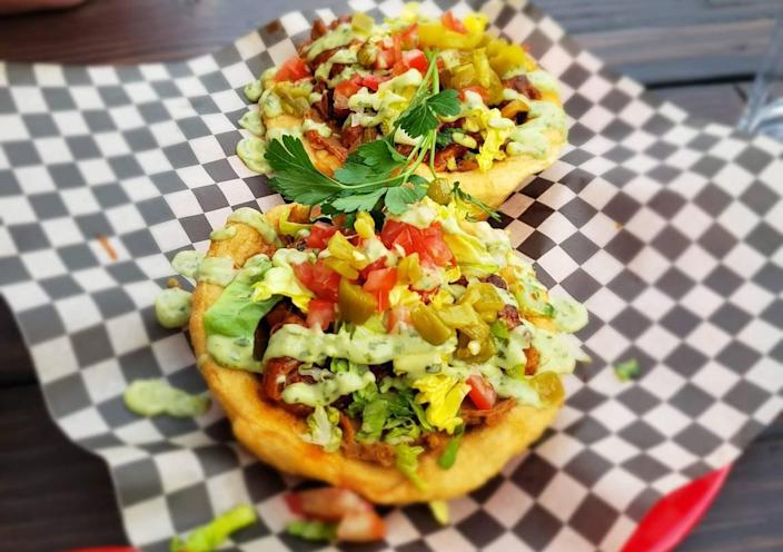 The tacos at Mala Luna deliver with the delicious frybread, but not with what's in it.
