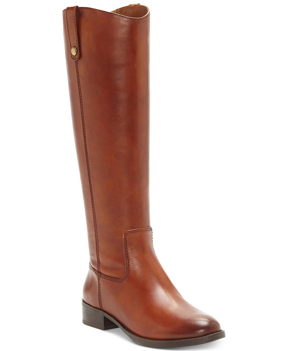 I.N.C. Fawne Wide-Calf Riding Boots. (Photo: Macy's)