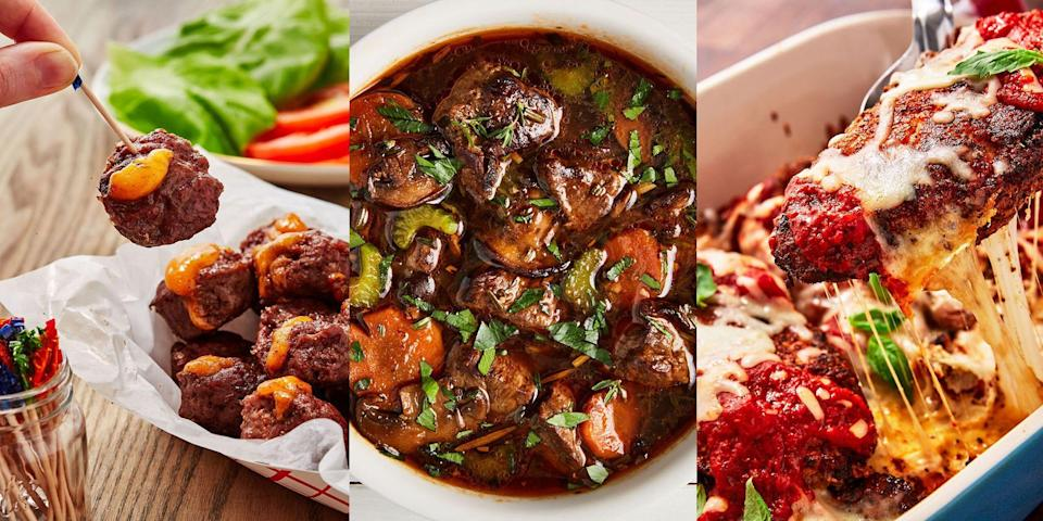 """<p>Following a ketogenic diet isn't as hard as you may think. And our delicious variety of keto recipes proves that! Whether you're after an insanely tasty <a href=""""https://www.delish.com/uk/cooking/recipes/a32666673/keto-beef-stew-recipe/"""" rel=""""nofollow noopener"""" target=""""_blank"""" data-ylk=""""slk:Keto Beef Stew"""" class=""""link rapid-noclick-resp"""">Keto Beef Stew</a>, <a href=""""https://www.delish.com/uk/cooking/recipes/a32593772/keto-chicken-parmesan-recipe/"""" rel=""""nofollow noopener"""" target=""""_blank"""" data-ylk=""""slk:Keto Chicken Parmesan"""" class=""""link rapid-noclick-resp"""">Keto Chicken Parmesan</a> or even <a href=""""https://www.delish.com/uk/cooking/recipes/a30323634/keto-pepperoni-pizza-recipe/"""" rel=""""nofollow noopener"""" target=""""_blank"""" data-ylk=""""slk:Keto Pepperoni Pizza"""" class=""""link rapid-noclick-resp"""">Keto Pepperoni Pizza</a>, we've got it all. Mix up your weeknight dinners with some of our favourite Keto Dinner Recipes. Oh, and don't forget dessert! (A personal fave is our <a href=""""https://www.delish.com/uk/cooking/recipes/a29124409/keto-brownies-recipe/"""" rel=""""nofollow noopener"""" target=""""_blank"""" data-ylk=""""slk:Keto Avocado Brownies"""" class=""""link rapid-noclick-resp"""">Keto Avocado Brownies</a>, yep). </p>"""