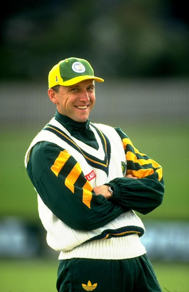 Dec 1993:  Allan Donald of South Africa poses for a photograph during their tour to Australia.  \ Mandatory Credit: Ben  Radford/Allsport