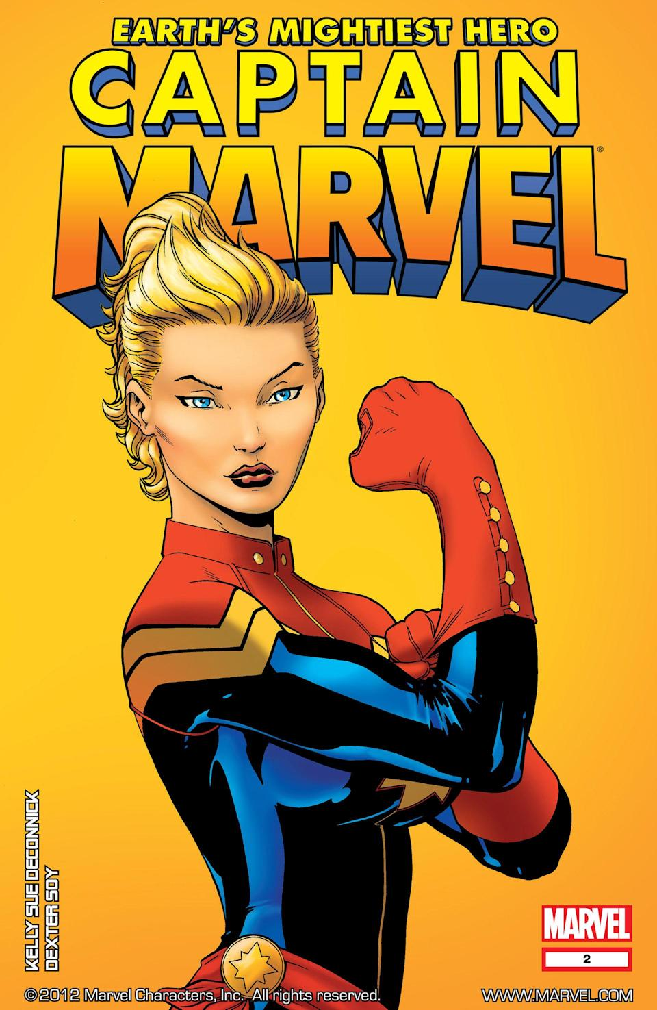 Carol Danvers made her debut as Captain Marvel in 2012. (Photo: Marvel)