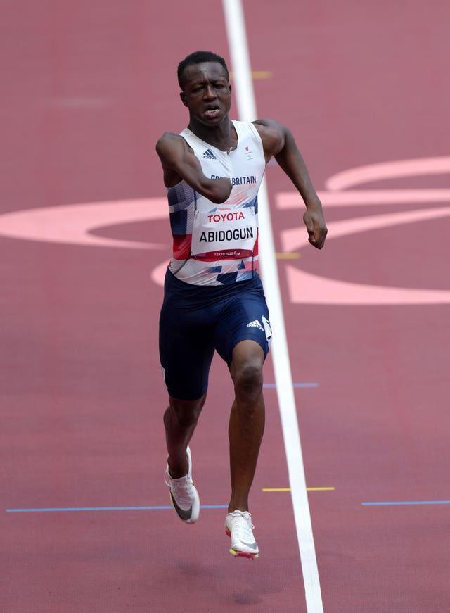 Great Britain's Ola Abidogun suffered disappointment on day one of the athletics