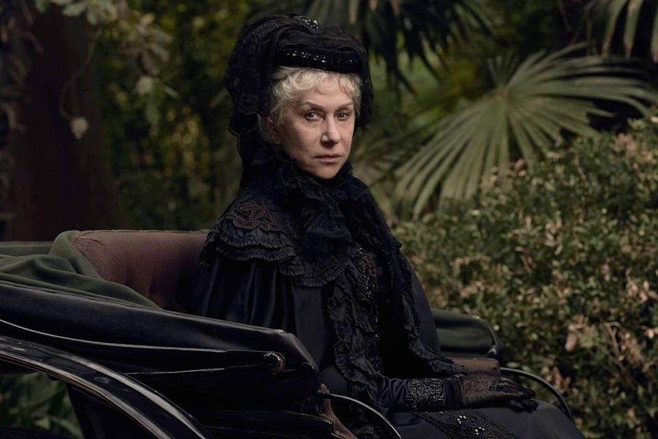 <p><strong>IMDb says</strong>: Ensconced in her sprawling California mansion, eccentric firearm heiress Sarah Winchester believes she is haunted by the souls of people killed by the Winchester repeating rifle.</p><p><strong>We say: </strong>Just when I thought me and Helen Mirren could be BFFs...</p><p><strong>Who's in it?</strong> Helen Mirren, Jason Clarke, Sarah Snook as Marion Marriott, Finn Scicluna-O'Prey</p>