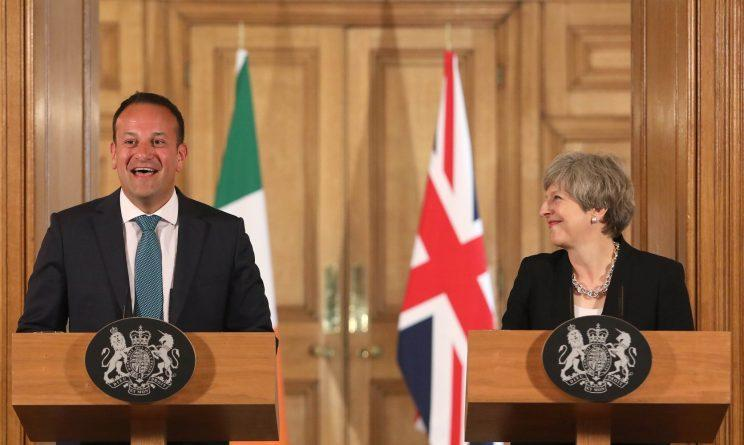 New Taoiseach Leo Varadkar meets PM Theresa May, with Brexit never far away (Philip Toscano - WPA Pool/Getty Images)