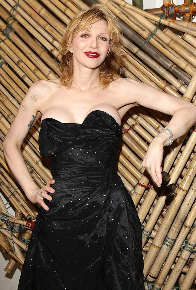 """July 9: Rocker Courtney Love turns 47 Vittorio Zunino Celotto/<a href=""""http://www.gettyimages.com/"""" target=""""new"""">GettyImages.com</a> - June 2, 2011"""