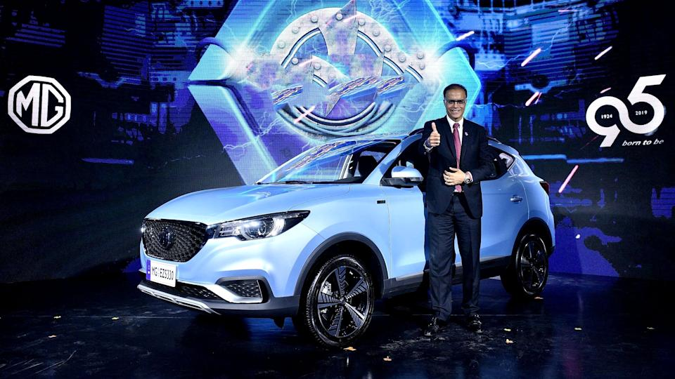 MG Motor will launch the eZS electric SUV by December 2019.