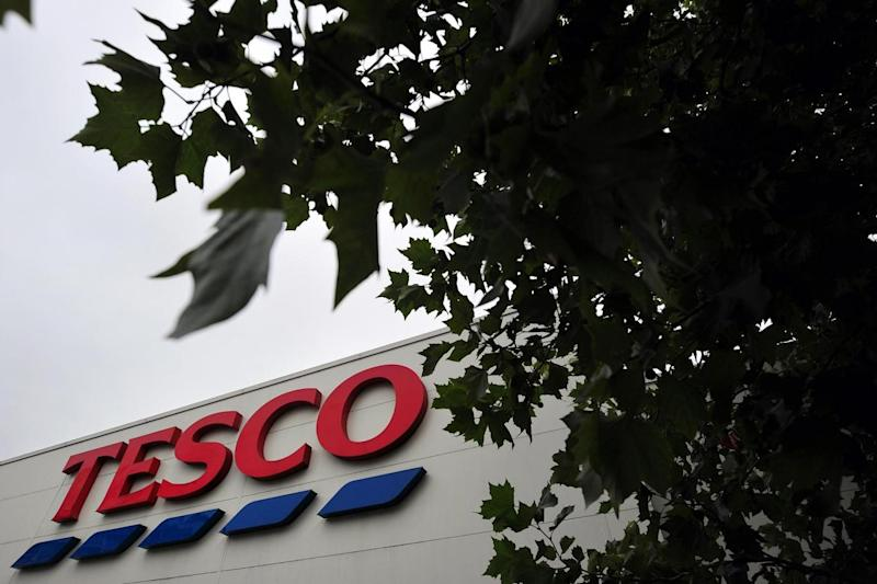 Tesco: Three of the supermarket's top execs are female and eight are male (AFP/Getty Images)