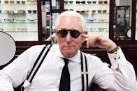 """<p>Known as a master in the dark arts of politics, Roger Stone is a political consultant, lobbyist, and strategist who earned a reputation in using opposition research, usually for candidates of the Republican Party, and who also serves as an advisor to <a class=""""link rapid-noclick-resp"""" href=""""https://www.popsugar.com/Donald-Trump"""" rel=""""nofollow noopener"""" target=""""_blank"""" data-ylk=""""slk:Donald Trump"""">Donald Trump</a>. Filmed over five years, this film revolves around Stone and his transformative effect on modern politics, ending with the 2016 election of President Trump.</p> <p>Watch <a href=""""http://www.netflix.com/title/80114666"""" class=""""link rapid-noclick-resp"""" rel=""""nofollow noopener"""" target=""""_blank"""" data-ylk=""""slk:Get Me Roger Stone""""><strong>Get Me Roger Stone</strong></a> on Netflix now.</p>"""