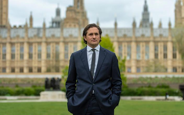 """Johnny Mercer who was """"forced"""" to resign as veterans minister - Geoff Pugh"""
