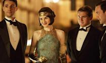 <p>Not much is known about the plot of the first <em>Downton Abbey</em> movie, all we know is that it's the continuing saga of the Crawley family and the servants who work for them in the English countryside in the early 20th century. </p>