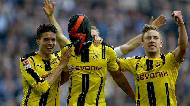 Thomas Tuchel thinks fans will remember Pierre-Emerick Aubameyang's latest mask stunt for Dortmund will be remembered for years to come.