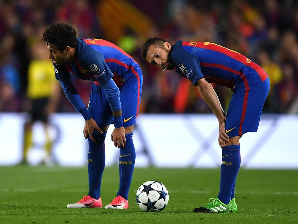 Neymar was Barcelona's brightest spark but still failed to shine (Getty)