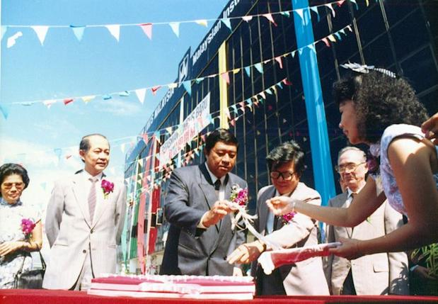 In 1989, then minister Tun Dr Ling Liong Sik officiated the opening ceremony of MIA's main campus in Taman Melawati. ― Picture courtesy of MIA
