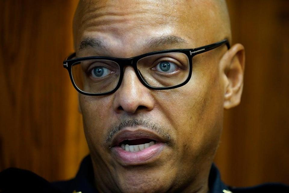 Black Police Chief Backlash (Copyright 2021 The Associated Press. All rights reserved)