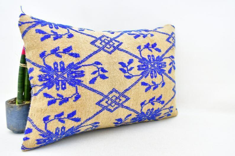 """<p><strong>Kilim Pillow Oriental</strong></p><p>etsy.com</p><p><strong>$40.00</strong></p><p><a href=""""https://go.redirectingat.com?id=74968X1596630&url=https%3A%2F%2Fwww.etsy.com%2Flisting%2F901047829%2Fembroidery-lumbar-pillow-turkish-kilim&sref=https%3A%2F%2Fwww.housebeautiful.com%2Flifestyle%2Fg34645272%2Fetsy-jump-start-holiday-sale%2F"""" rel=""""nofollow noopener"""" target=""""_blank"""" data-ylk=""""slk:Shop Now"""" class=""""link rapid-noclick-resp"""">Shop Now</a></p><p><strong><del>$40</del> $20 (50% off)</strong></p>"""