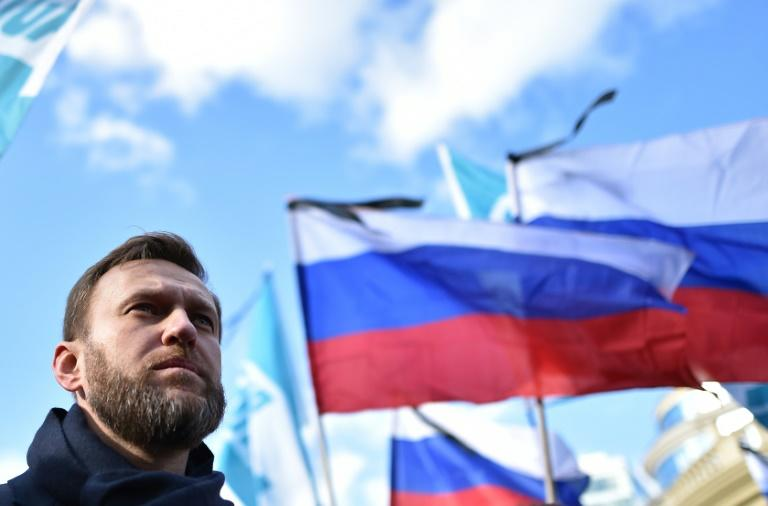 Anti-Putin opposition leader arrested in demonstration