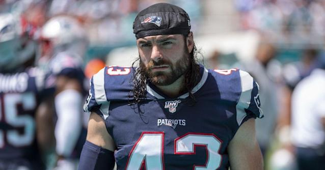 Patriots add core special teamer Nate Ebner to injury report against Jets