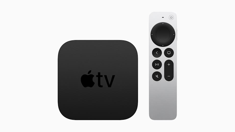 Apple's new Apple TV 4K gets an upgraded remote and color balancing capabilities. (Image: Apple)