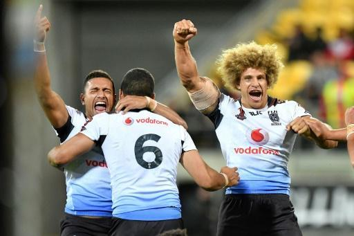<p>RugbyL: Fiji stun New Zealand, Tonga survive Lebanon scare</p>