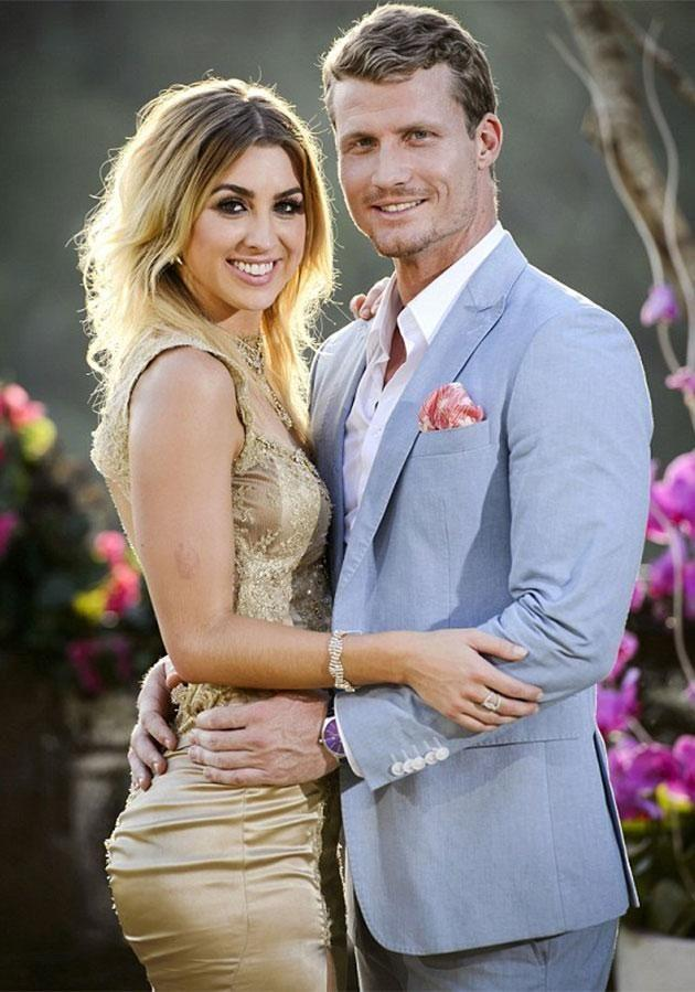 Richie picked Alex as his winner on last night's The Bachelor. Source: Network Ten